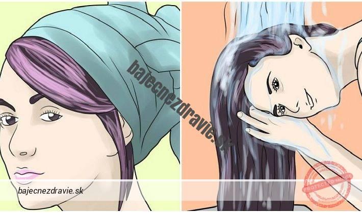 vlasy maska
